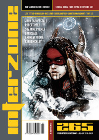 Interzone #265 cover - click to view full size