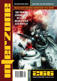 Interzone #266 cover - click to view full size
