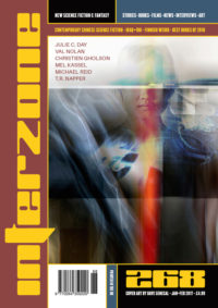 Interzone #268 cover - click to view full size