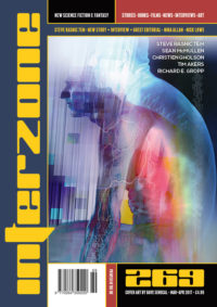 Interzone #269 cover - click to view full size