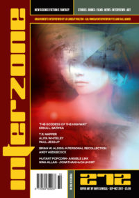 Interzone #272 cover - click to view full size