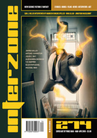 Interzone #274 cover - click to view full size