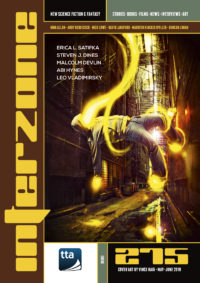 Interzone #275 cover - click to view full size