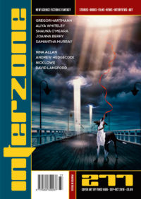 Interzone #277 cover - click to view full size