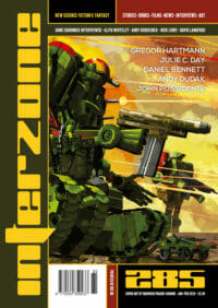 Interzone #285 cover - click to view full size