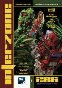 INTERZONE #286 (MAR-APR 2020) cover - click to view full size