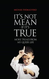 It's Not Mean If It's True: More Trials From My Queer Life cover - click to view full size