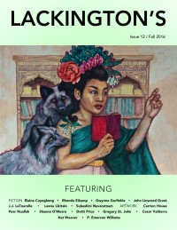 Lackington's Issue 12 (Fall 2016) cover - click to view full size