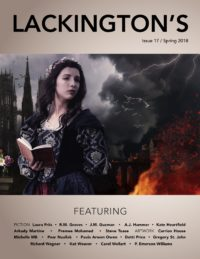 Lackington's Issue 17 (Spring 2018) cover - click to view full size
