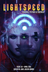 Lightspeed Magazine Issue 59 cover - click to view full size
