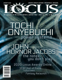 Locus August 2020 (#715) cover - click to view full size