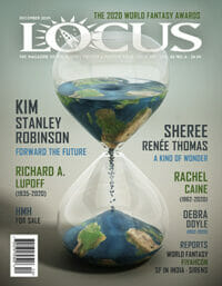 Locus December 2020 (#719) cover - click to view full size