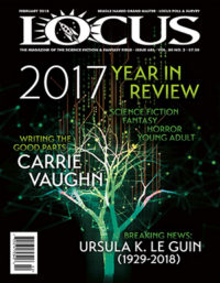 Locus February 2018 (#685) cover - click to view full size