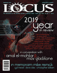 Locus February 2020 (#709) cover - click to view full size