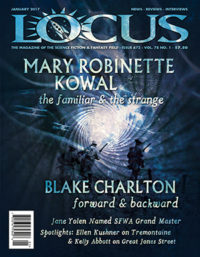 Locus January 2017 (#672) cover - click to view full size
