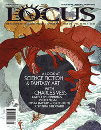 Locus January 2018 (#696) cover - click to view full size