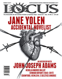 Locus March 2017 (#674) cover - click to view full size