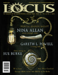 Locus March 2020 (#710) cover - click to view full size