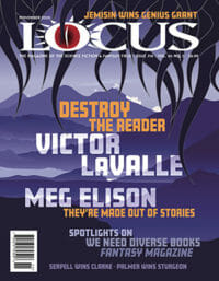 Locus November 2020 (#718) cover - click to view full size
