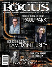 Locus October 2014 (#645) cover - click to view full size