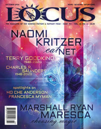 Locus October 2020 (#717) cover - click to view full size