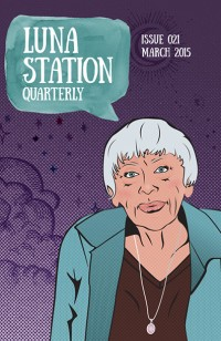 Luna Station Quarterly – Issue 21 cover - click to view full size