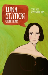 Luna Station Quarterly – Issue 23 cover - click to view full size