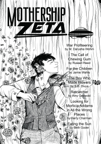 Mothership Zeta Magazine – Issue 4 cover - click to view full size