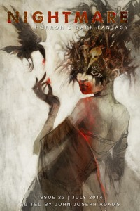 Nightmare Magazine Issue 22 cover - click to view full size