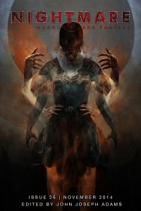 Nightmare Magazine Issue 26 cover - click to view full size