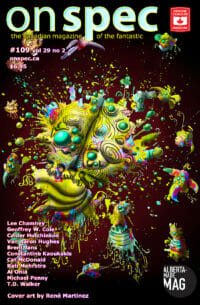 On Spec Magazine #109, Vol 29 No 2 cover - click to view full size