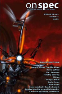 On Spec Magazine – Fall 2012 #90 vol 24 no 3 cover - click to view full size