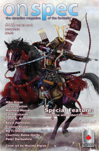 On Spec Magazine – Fall 2015 #102 vol 27 no 3 cover - click to view full size