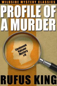 Profile of a Murder: A Lt. Valcour Mystery cover - click to view full size