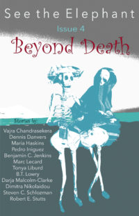 See the Elephant, Issue 4, Beyond Death cover - click to view full size