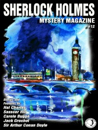 Sherlock Holmes Mystery Magazine #12 cover - click to view full size