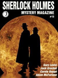 Sherlock Holmes Mystery Magazine #15 cover - click to view full size