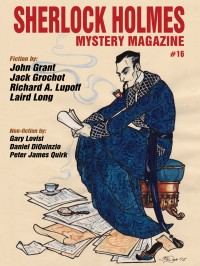 Sherlock Holmes Mystery Magazine #16 cover - click to view full size