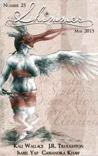 Shimmer Magazine – Issue 25 cover - click to view full size
