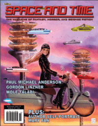 Space and Time Magazine Issue #129 cover - click to view full size