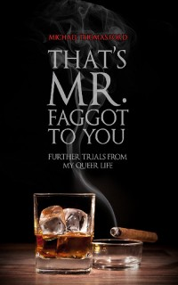 That's Mr. Faggot to You: Further Trials from My Queer Life cover - click to view full size