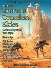 The Best of Beneath Ceaseless Skies Online Magazine, Year Eight cover - click to view full size