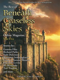 The Best of Beneath Ceaseless Skies Online Magazine, Year Five cover - click to view full size