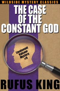 The Case of the Constant God: A Lt. Valcour Mystery cover - click to view full size