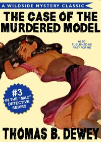 The Case of the Murdered Model cover - click to view full size
