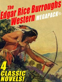 The Edgar Rice Burroughs Western MEGAPACK® cover - click to view full size