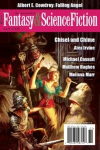 The Magazine of Fantasy and Science Fiction – January/February 2020 cover - click to view full size