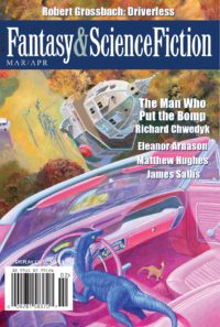The Magazine of Fantasy and Science Fiction – March/April 2017 cover - click to view full size