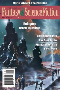The Magazine of Fantasy and Science Fiction – May/June 2021 cover - click to view full size