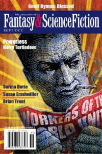 The Magazine of Fantasy and Science Fiction – September/October 2018 cover - click to view full size